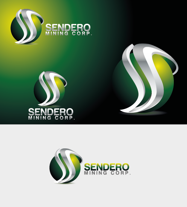 Logo Design by Private User - Entry No. 25 in the Logo Design Contest Unique Logo Design Wanted for Sendero Mining Corp..