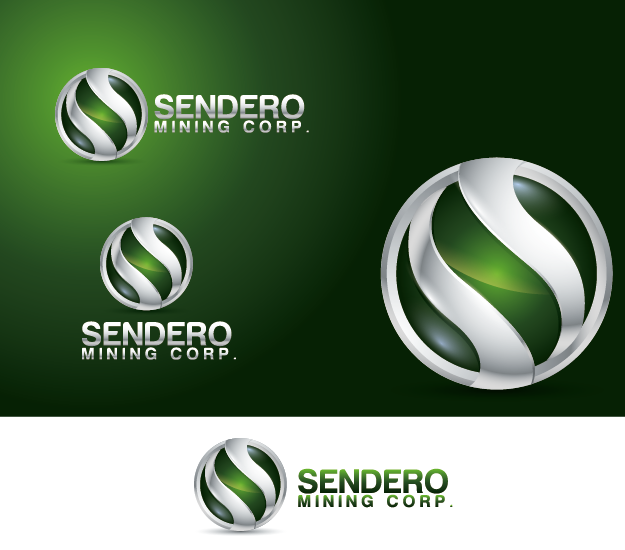Logo Design by Private User - Entry No. 26 in the Logo Design Contest Unique Logo Design Wanted for Sendero Mining Corp..