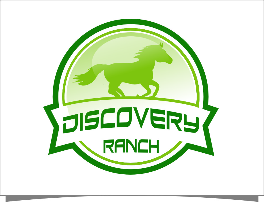 Logo Design by Ngepet_art - Entry No. 68 in the Logo Design Contest Creative Logo Design for Discovery Ranch.