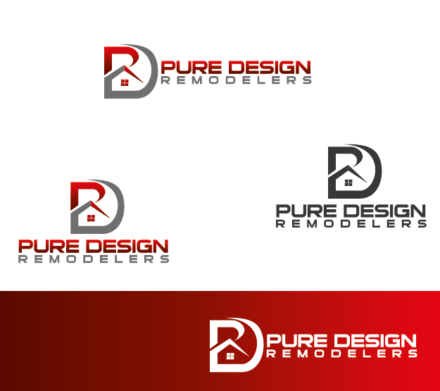 Logo Design by Private User - Entry No. 12 in the Logo Design Contest Custom Logo Design for Pure Design Remodelers.