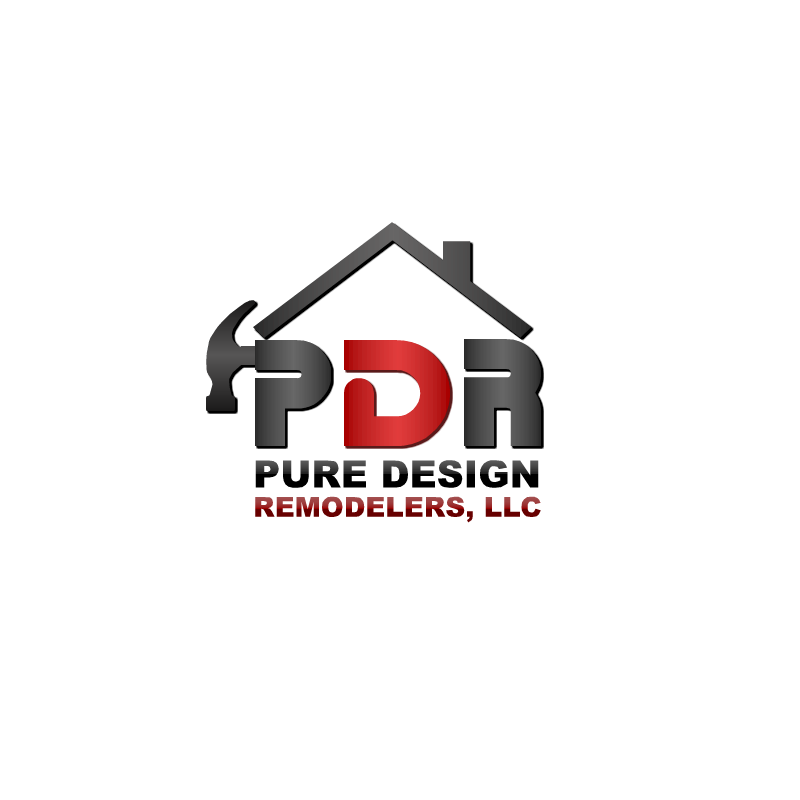 Logo Design by RAJU CHATTERJEE - Entry No. 13 in the Logo Design Contest Custom Logo Design for Pure Design Remodelers.
