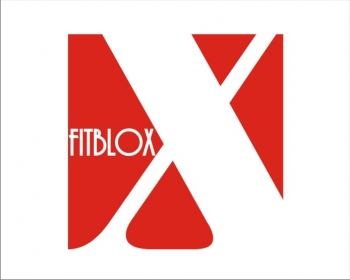 Logo Design by SquaredDesign - Entry No. 57 in the Logo Design Contest FitBloxx (creating block fits for the apparel industry).