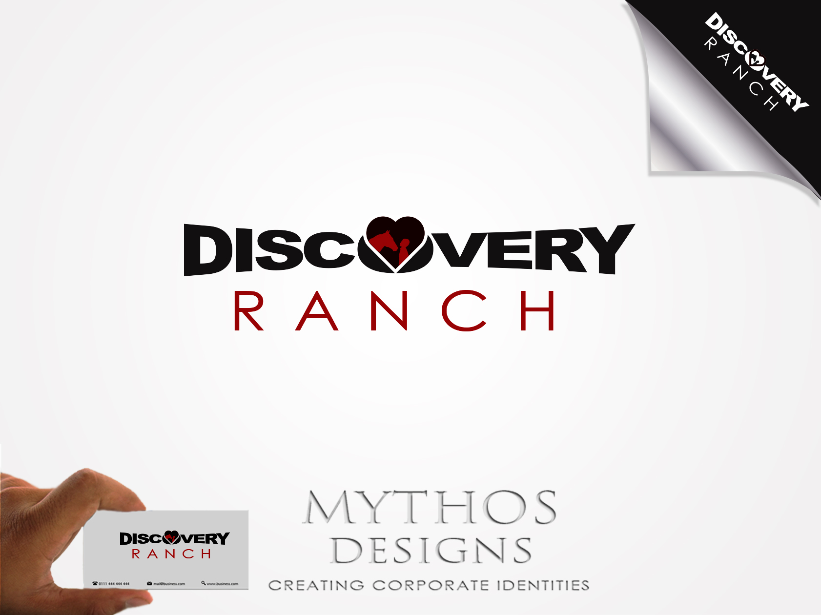 Logo Design by Mythos Designs - Entry No. 71 in the Logo Design Contest Creative Logo Design for Discovery Ranch.