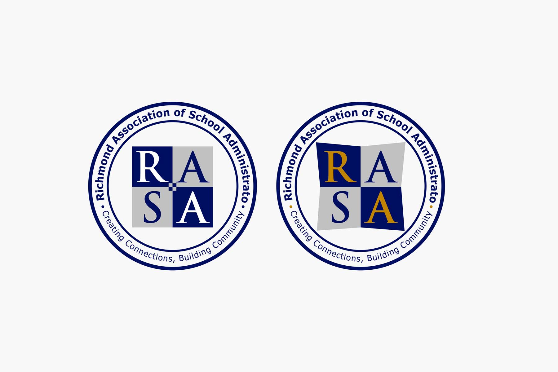 Logo Design by Private User - Entry No. 29 in the Logo Design Contest New Logo Design for RASA - Richmond Association of School Administrato.
