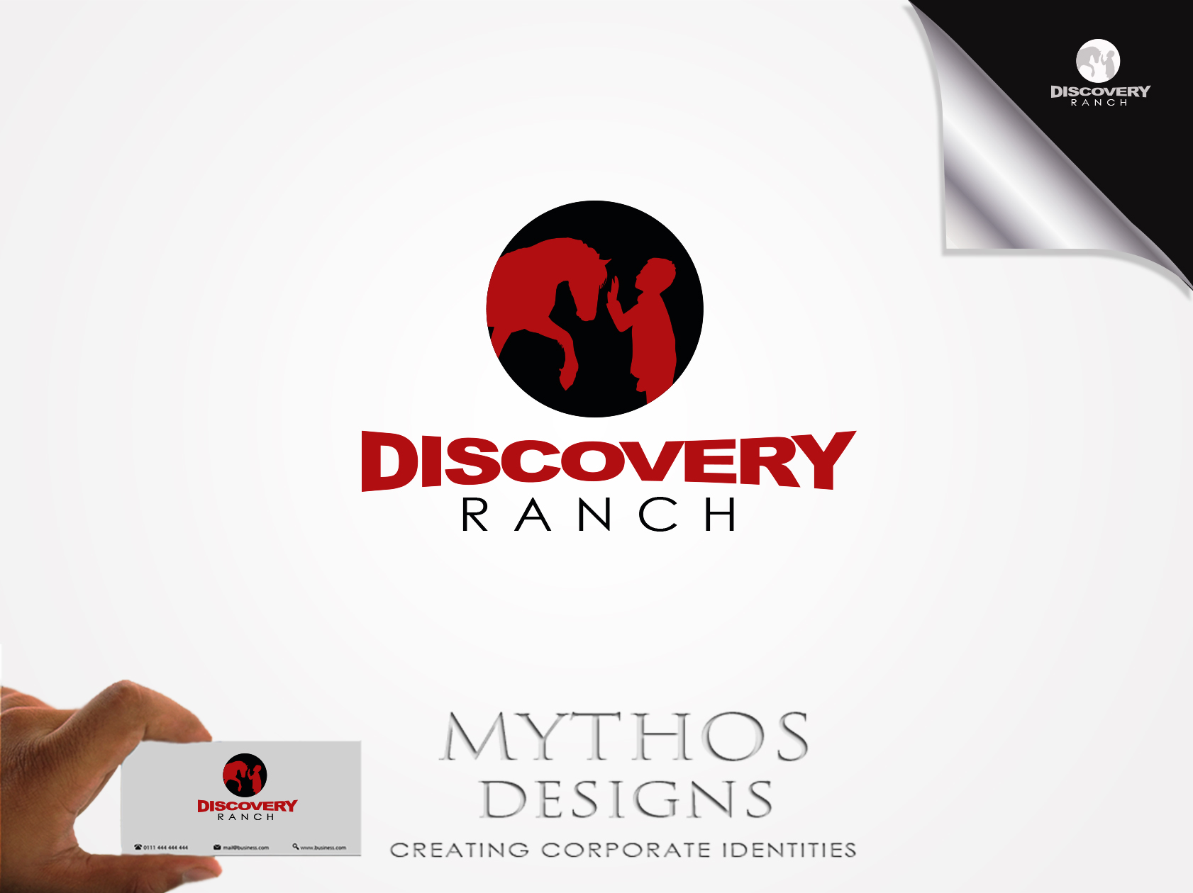 Logo Design by Mythos Designs - Entry No. 72 in the Logo Design Contest Creative Logo Design for Discovery Ranch.