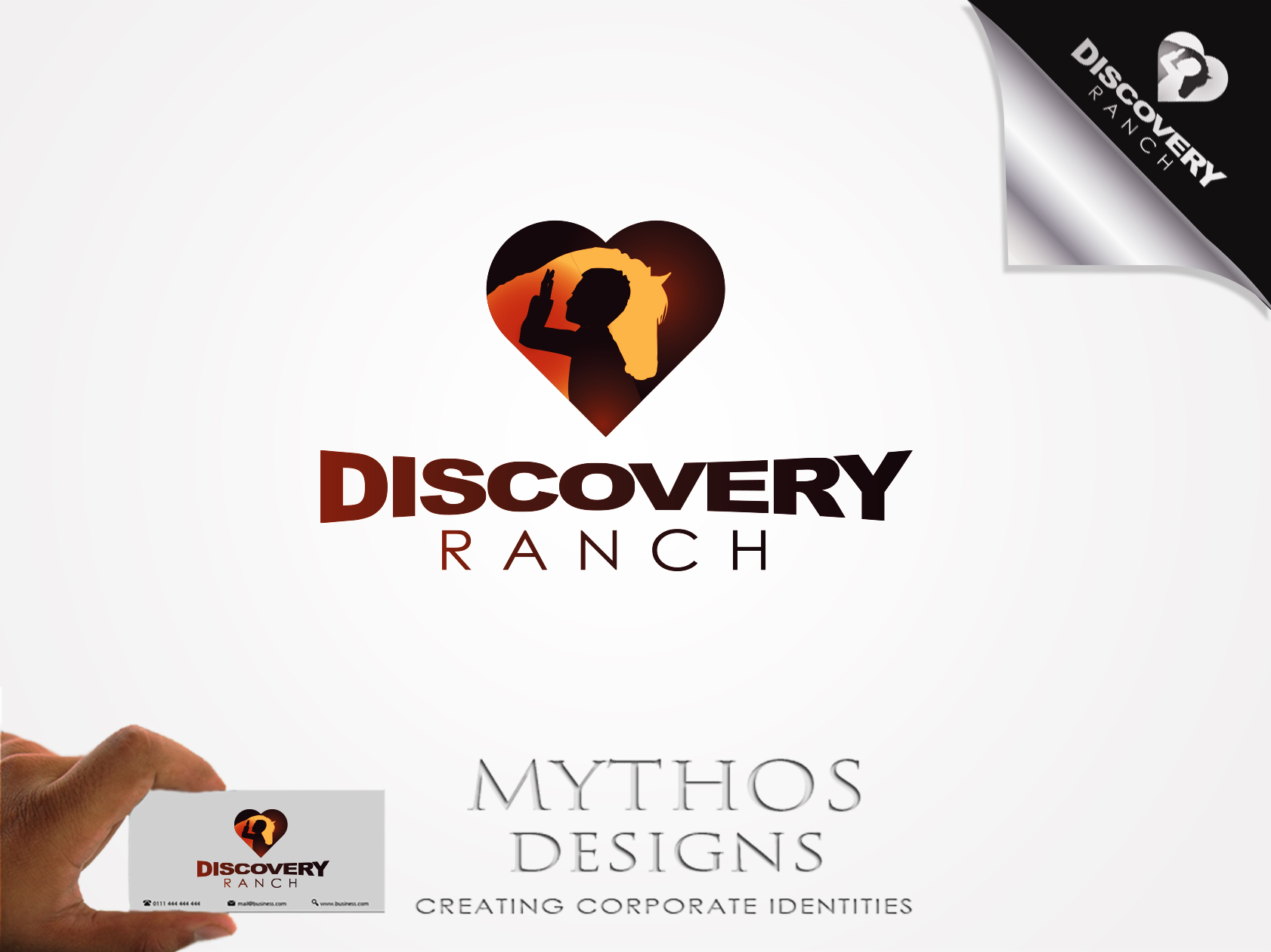 Logo Design by Mythos Designs - Entry No. 74 in the Logo Design Contest Creative Logo Design for Discovery Ranch.