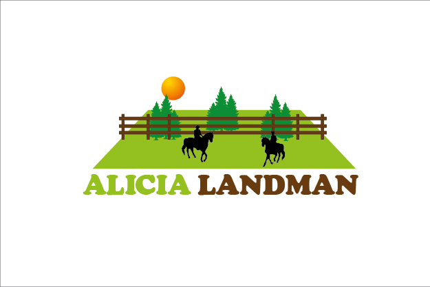Logo Design by Private User - Entry No. 6 in the Logo Design Contest Fun Logo Design for Alicia Landman.