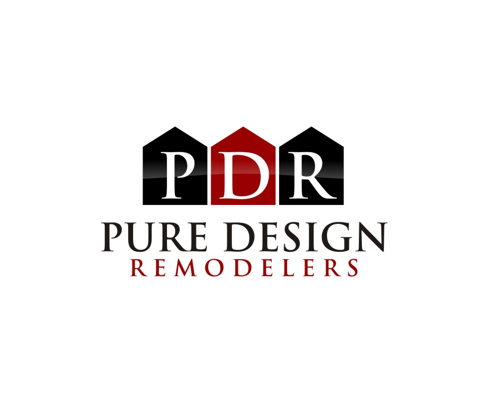 Logo Design by untung - Entry No. 14 in the Logo Design Contest Custom Logo Design for Pure Design Remodelers.