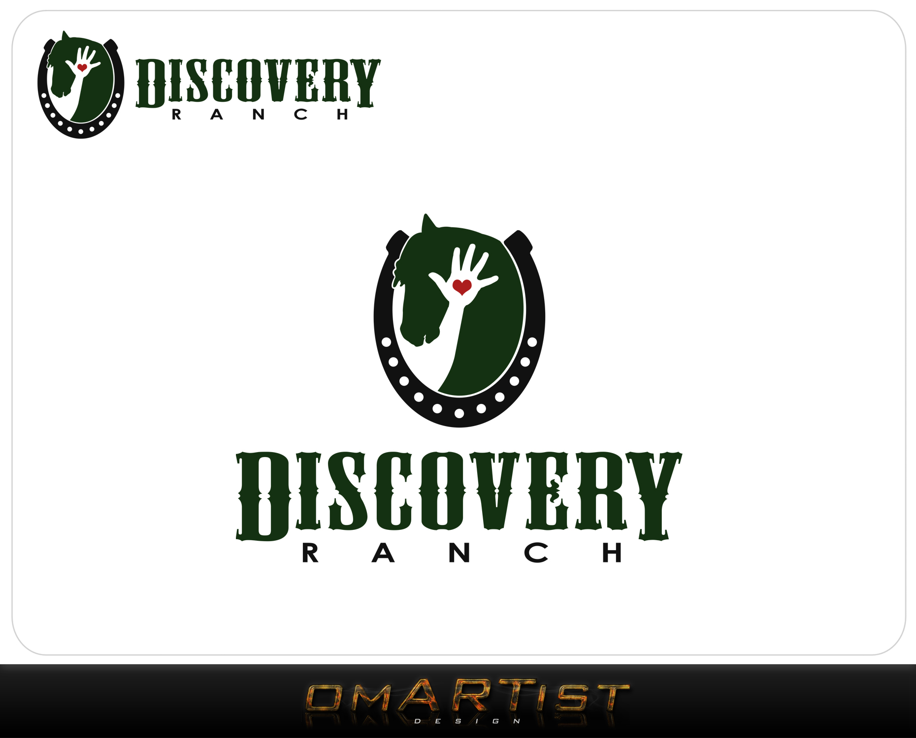 Logo Design by omARTist - Entry No. 79 in the Logo Design Contest Creative Logo Design for Discovery Ranch.