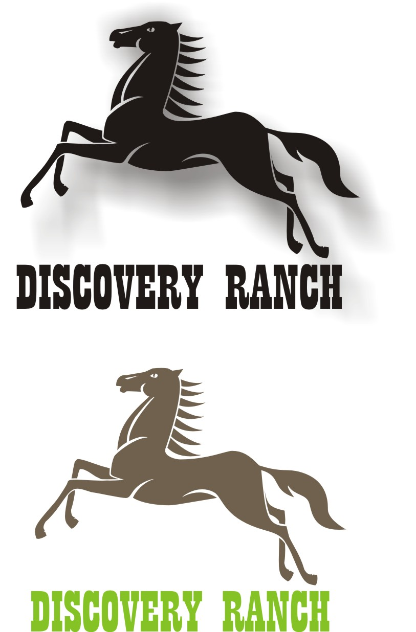 Logo Design by Korsunov Oleg - Entry No. 80 in the Logo Design Contest Creative Logo Design for Discovery Ranch.