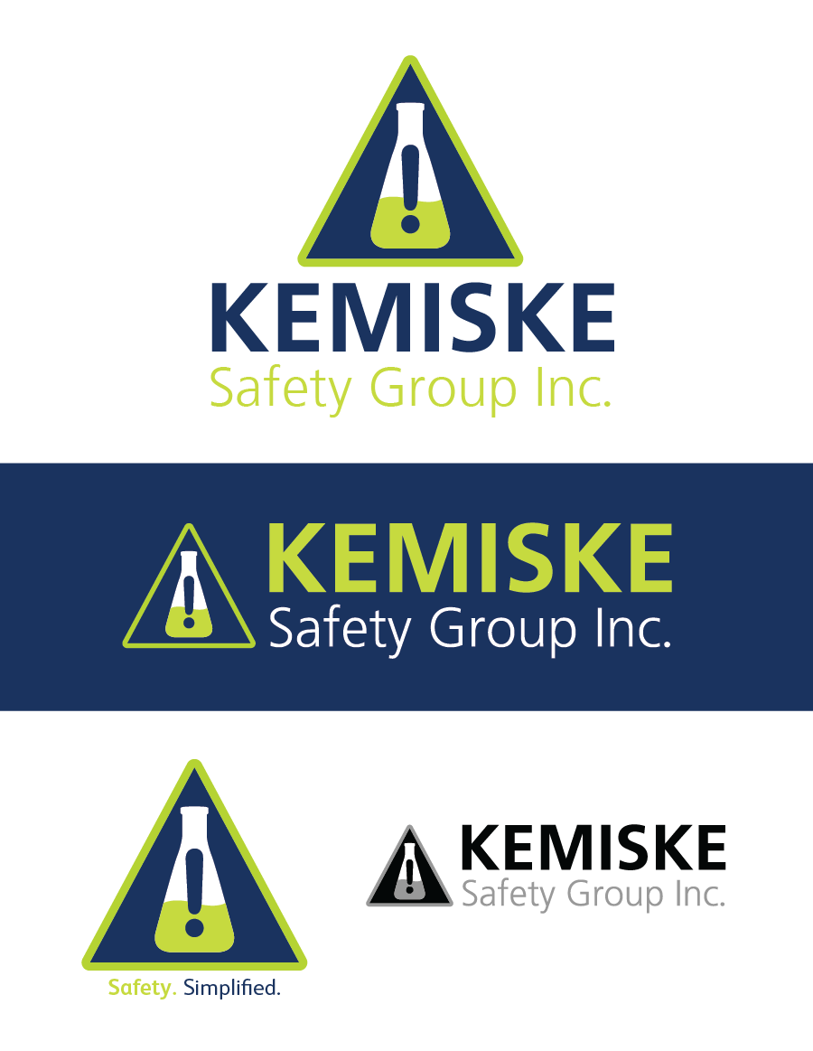 Logo Design by Christina Evans - Entry No. 38 in the Logo Design Contest New Logo Design for Kemiske Safety Group Inc..