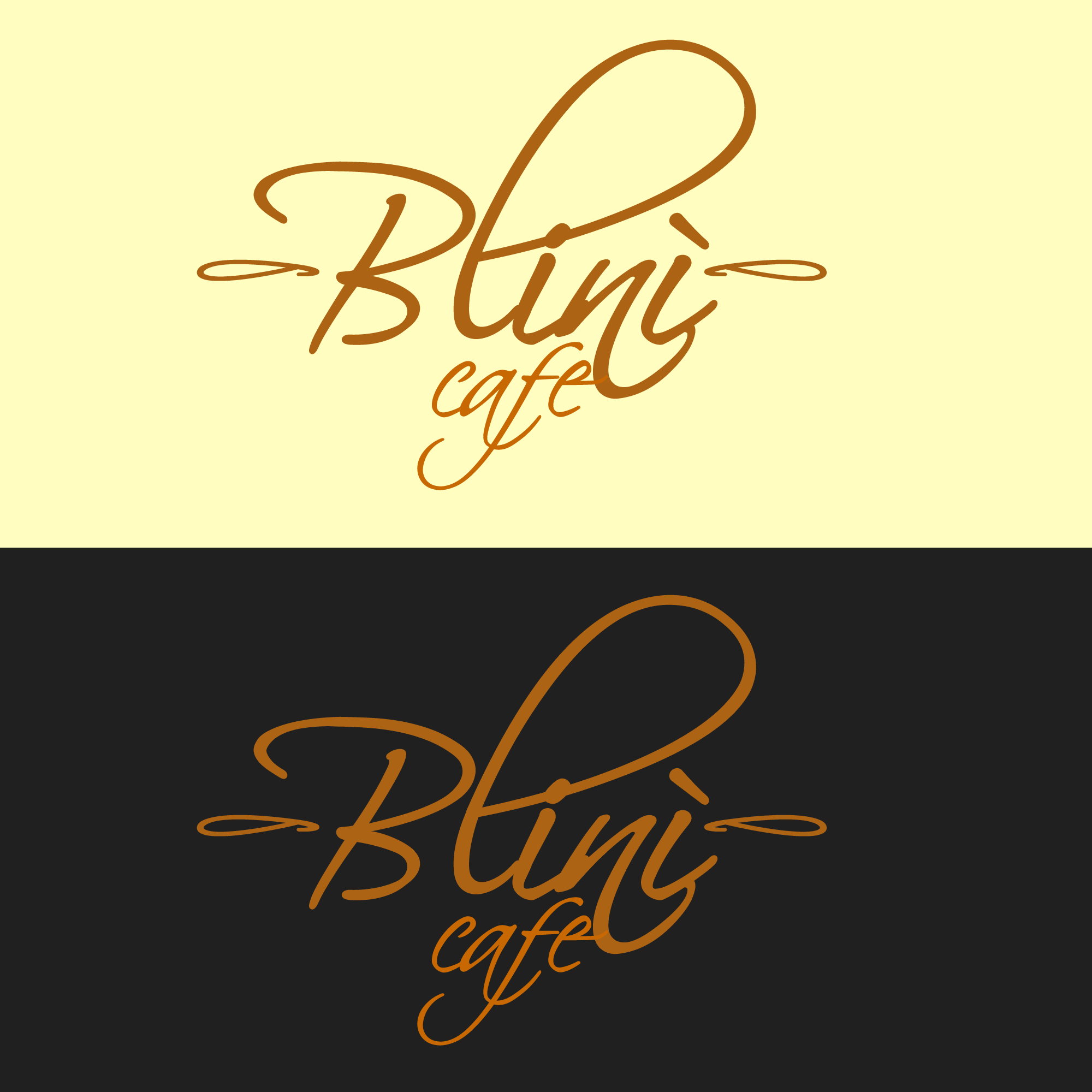 Logo Design by Kenneth Joel - Entry No. 50 in the Logo Design Contest Creative Logo Design for Blinì.
