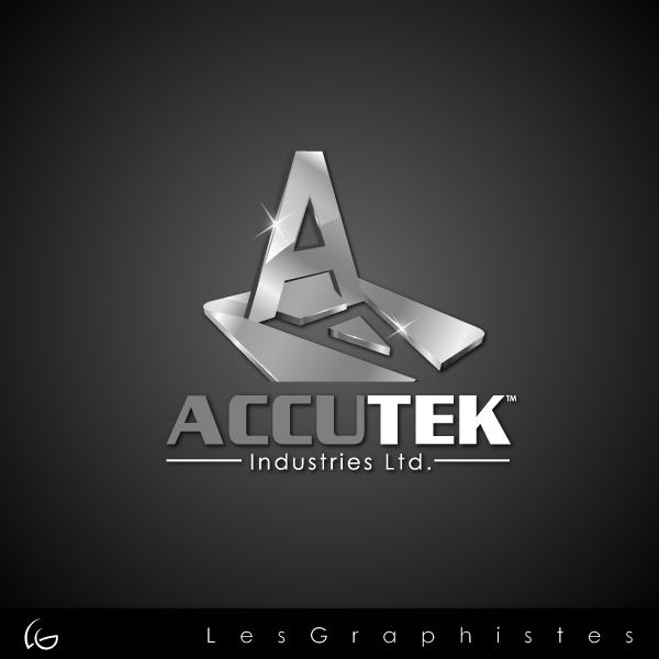 Logo Design by Les-Graphistes - Entry No. 76 in the Logo Design Contest Accutek Industries Ltd..