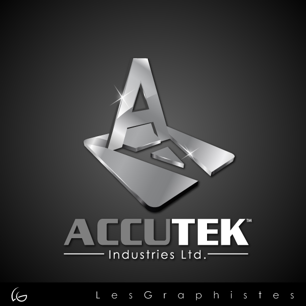 Logo Design by Les-Graphistes - Entry No. 77 in the Logo Design Contest Accutek Industries Ltd..