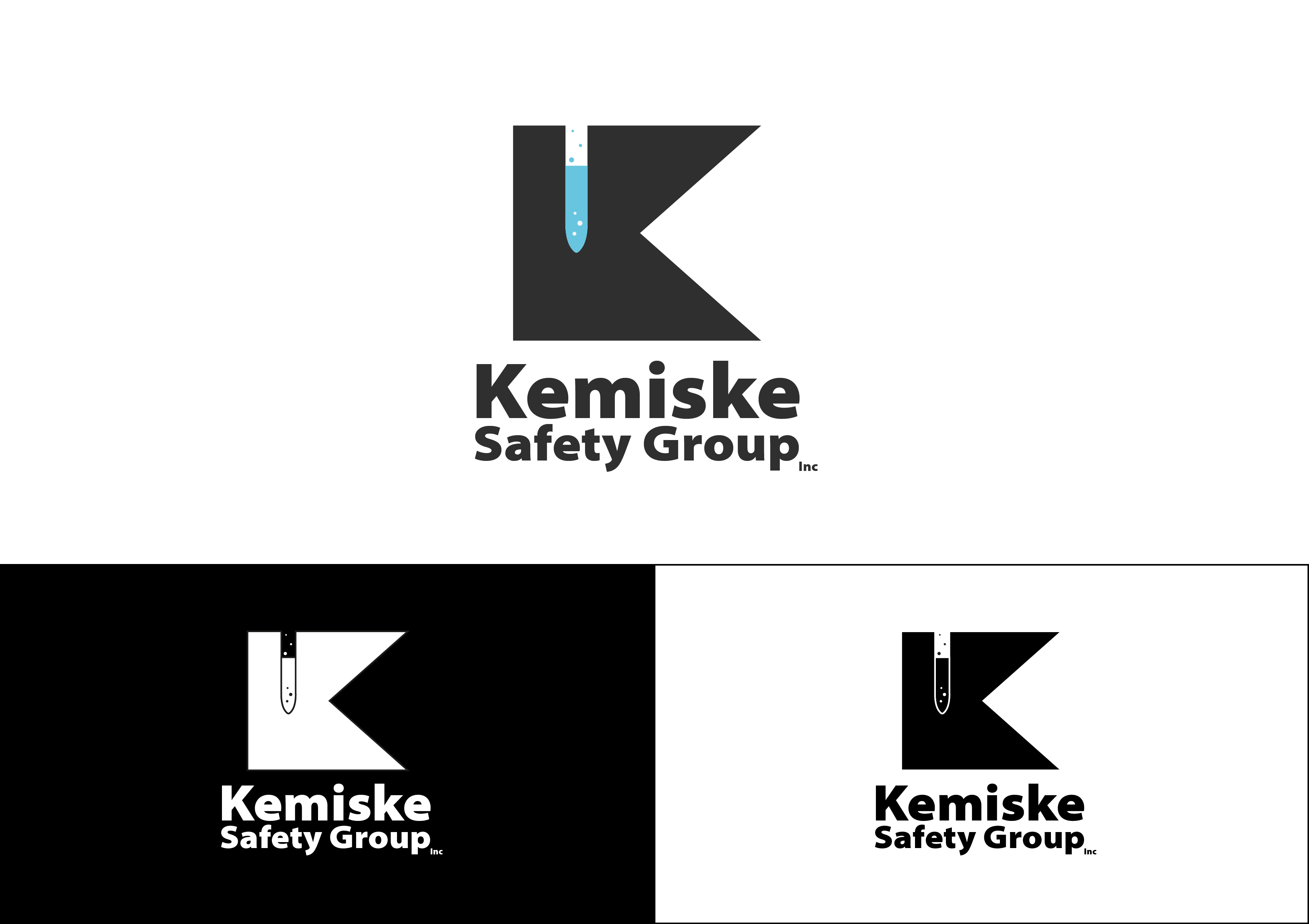 Logo Design by 3draw - Entry No. 55 in the Logo Design Contest New Logo Design for Kemiske Safety Group Inc..