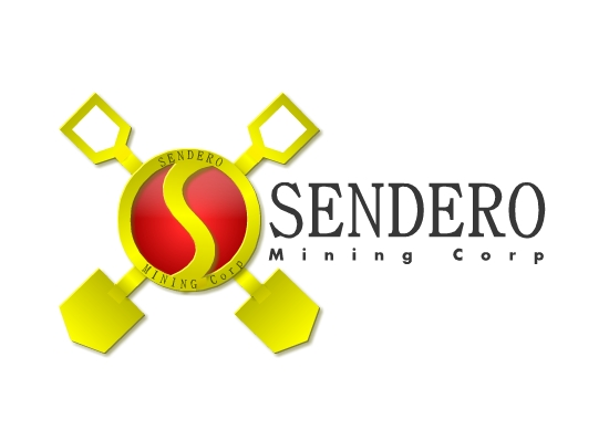 Logo Design by Ismail Adhi Wibowo - Entry No. 48 in the Logo Design Contest Unique Logo Design Wanted for Sendero Mining Corp..