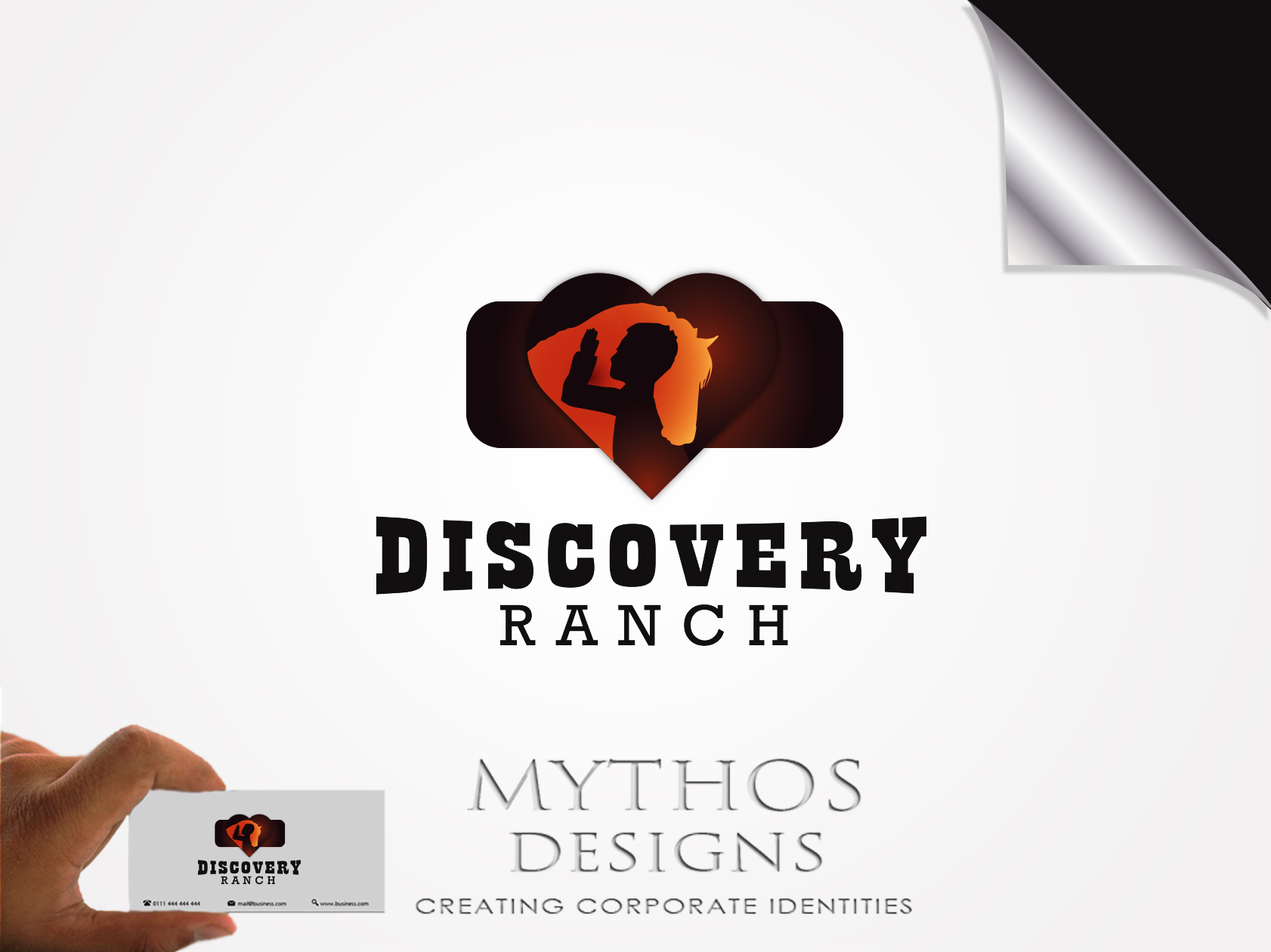 Logo Design by Mythos Designs - Entry No. 95 in the Logo Design Contest Creative Logo Design for Discovery Ranch.