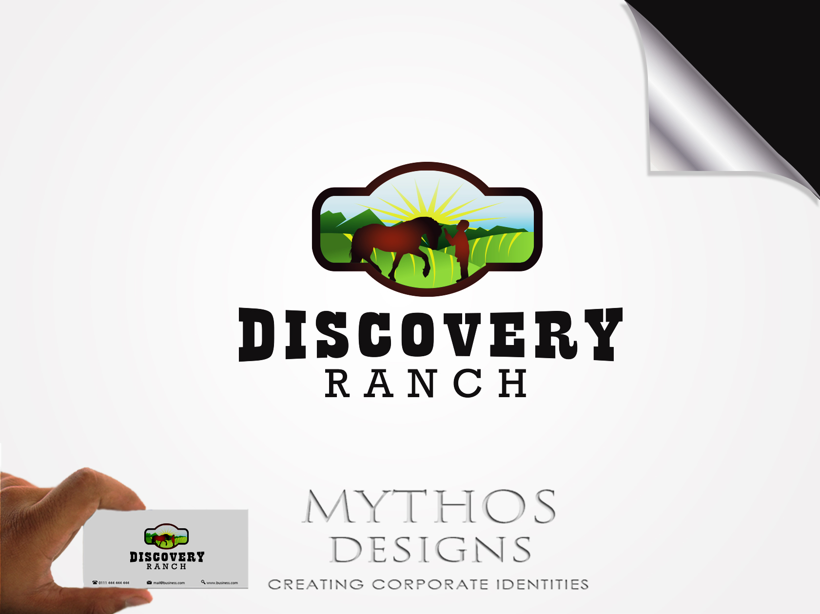 Logo Design by Mythos Designs - Entry No. 97 in the Logo Design Contest Creative Logo Design for Discovery Ranch.