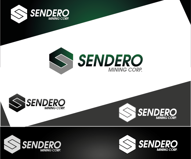 Logo Design by Private User - Entry No. 57 in the Logo Design Contest Unique Logo Design Wanted for Sendero Mining Corp..