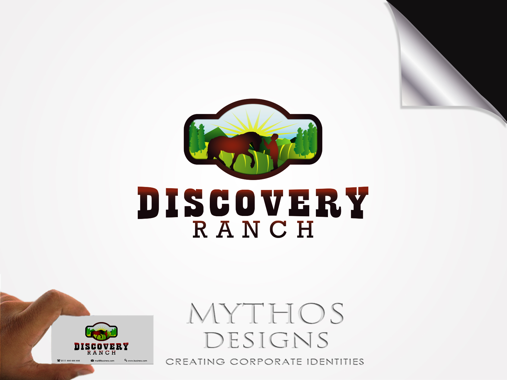 Logo Design by Mythos Designs - Entry No. 98 in the Logo Design Contest Creative Logo Design for Discovery Ranch.
