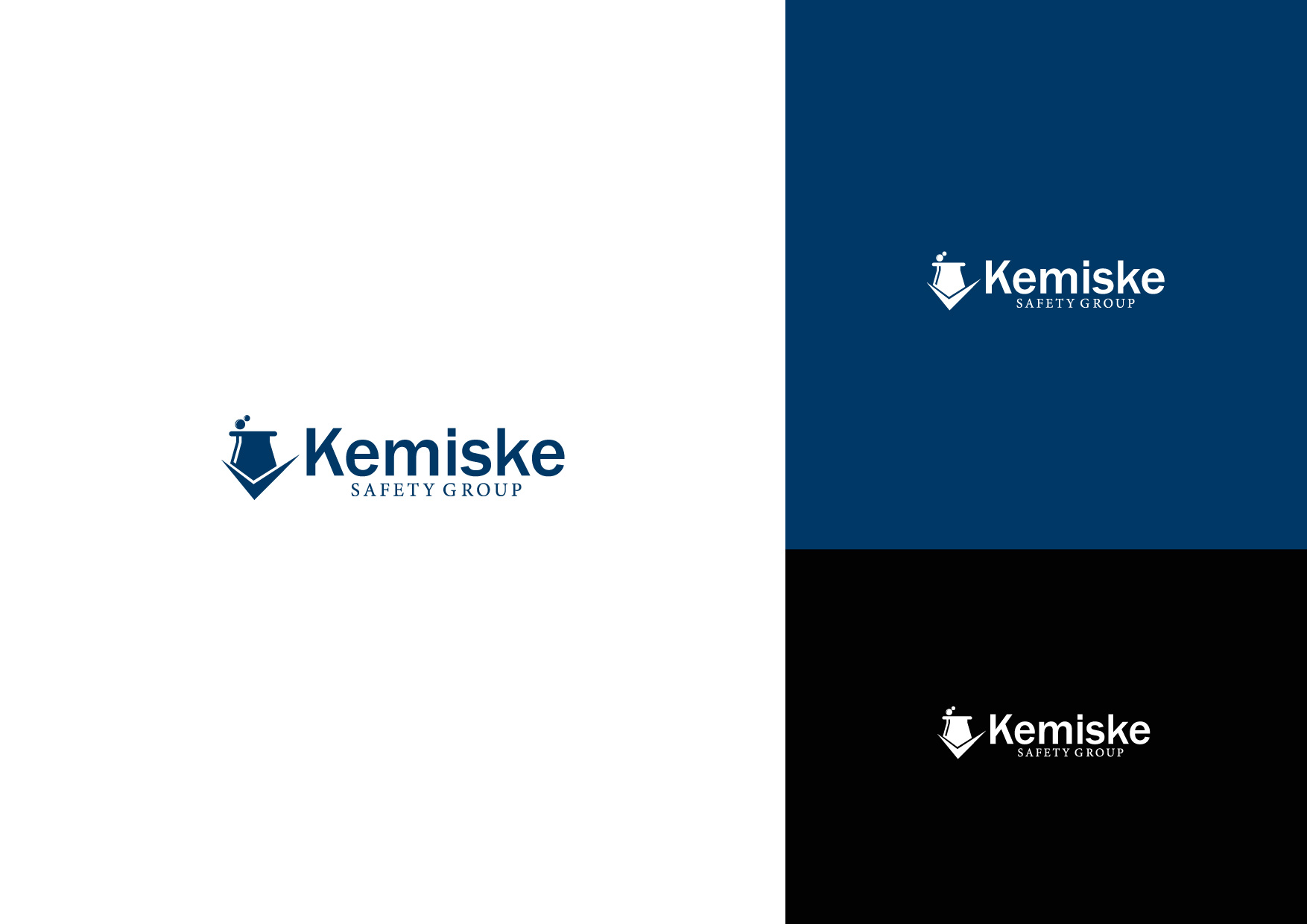 Logo Design by Osi Indra - Entry No. 62 in the Logo Design Contest New Logo Design for Kemiske Safety Group Inc..