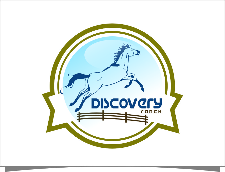 Logo Design by Ngepet_art - Entry No. 99 in the Logo Design Contest Creative Logo Design for Discovery Ranch.