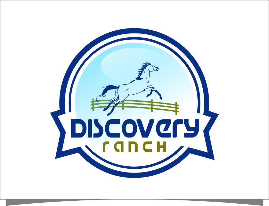 Logo Design by Ngepet_art - Entry No. 100 in the Logo Design Contest Creative Logo Design for Discovery Ranch.