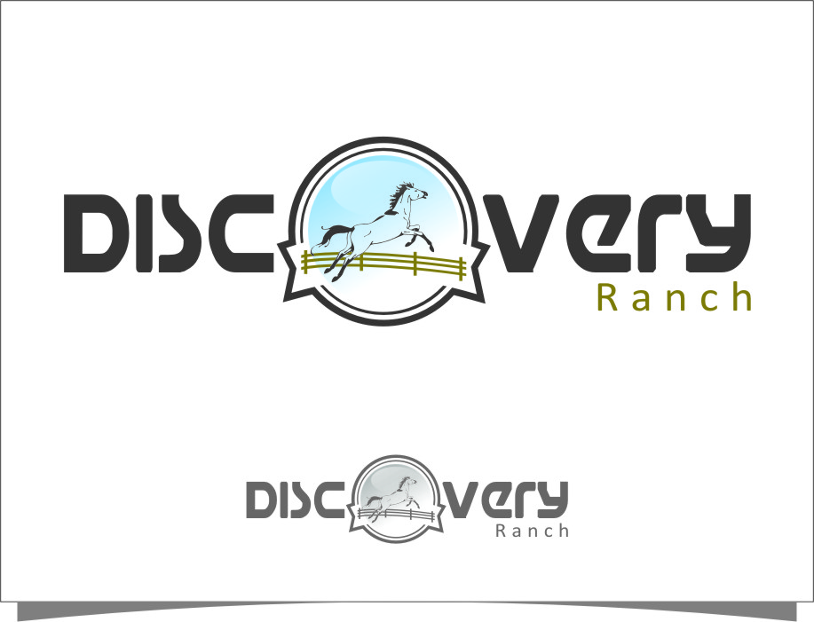 Logo Design by Ngepet_art - Entry No. 101 in the Logo Design Contest Creative Logo Design for Discovery Ranch.