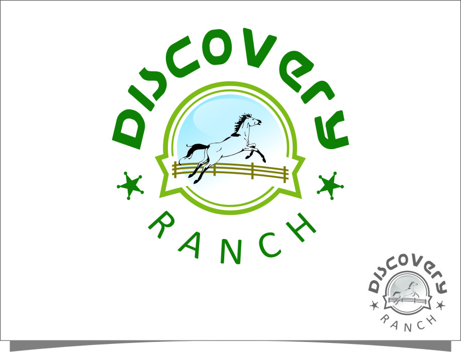 Logo Design by RasYa Muhammad Athaya - Entry No. 102 in the Logo Design Contest Creative Logo Design for Discovery Ranch.
