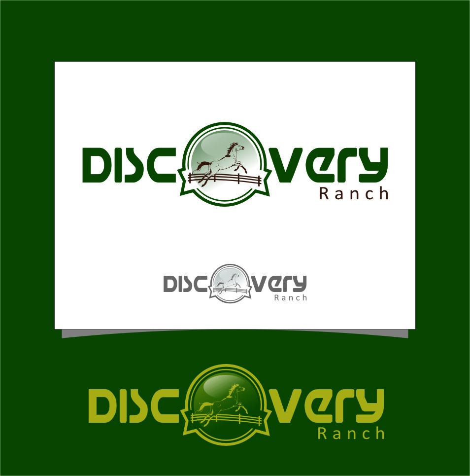 Logo Design by RasYa Muhammad Athaya - Entry No. 103 in the Logo Design Contest Creative Logo Design for Discovery Ranch.