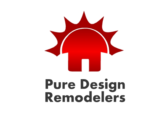 Logo Design by Ismail Adhi Wibowo - Entry No. 17 in the Logo Design Contest Custom Logo Design for Pure Design Remodelers.