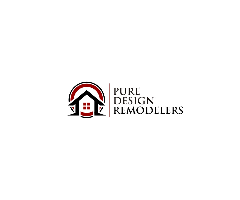 Logo Design by untung - Entry No. 18 in the Logo Design Contest Custom Logo Design for Pure Design Remodelers.