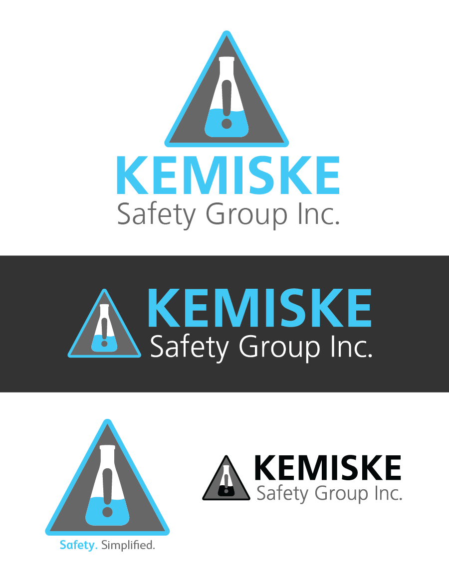 Logo Design by Christina Evans - Entry No. 72 in the Logo Design Contest New Logo Design for Kemiske Safety Group Inc..