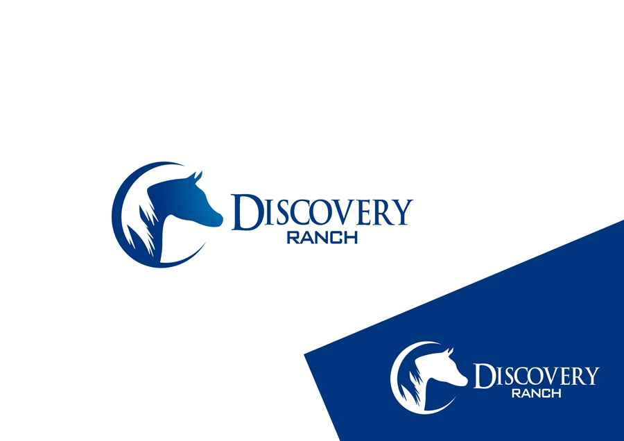 Logo Design by Respati Himawan - Entry No. 111 in the Logo Design Contest Creative Logo Design for Discovery Ranch.