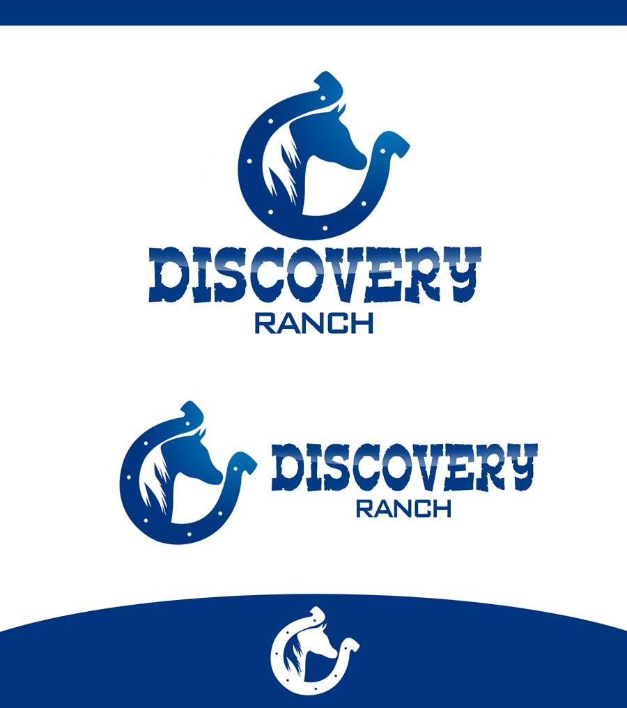 Logo Design by Respati Himawan - Entry No. 113 in the Logo Design Contest Creative Logo Design for Discovery Ranch.
