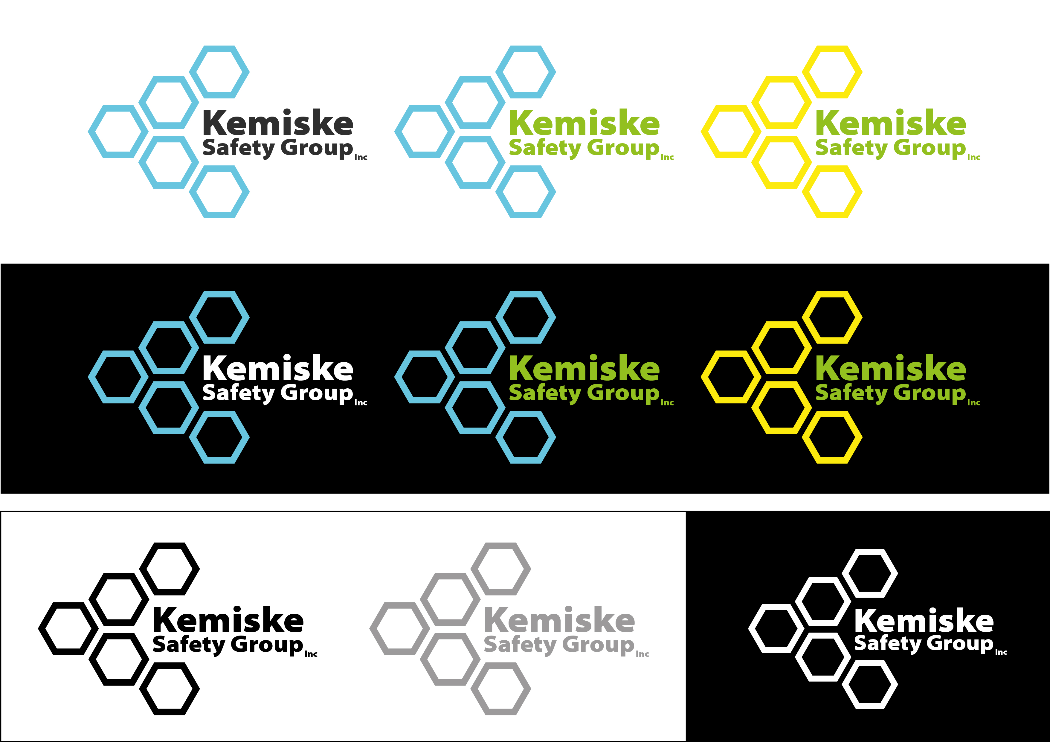 Logo Design by 3draw - Entry No. 73 in the Logo Design Contest New Logo Design for Kemiske Safety Group Inc..