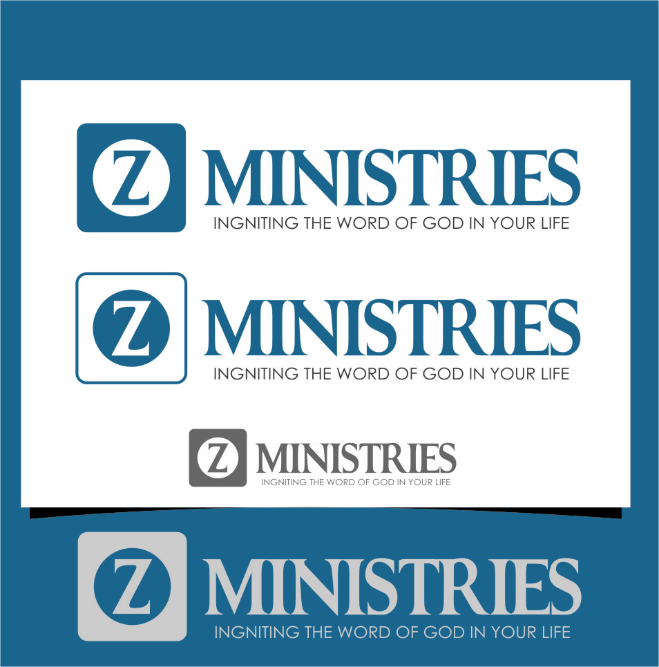 Logo Design by Ngepet_art - Entry No. 21 in the Logo Design Contest Artistic Logo Design for Z Ministries.