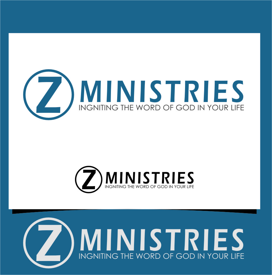 Logo Design by Ngepet_art - Entry No. 22 in the Logo Design Contest Artistic Logo Design for Z Ministries.