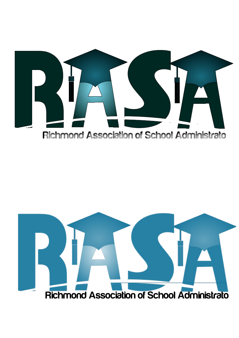 Logo Design by الملا سفيان - Entry No. 37 in the Logo Design Contest New Logo Design for RASA - Richmond Association of School Administrato.