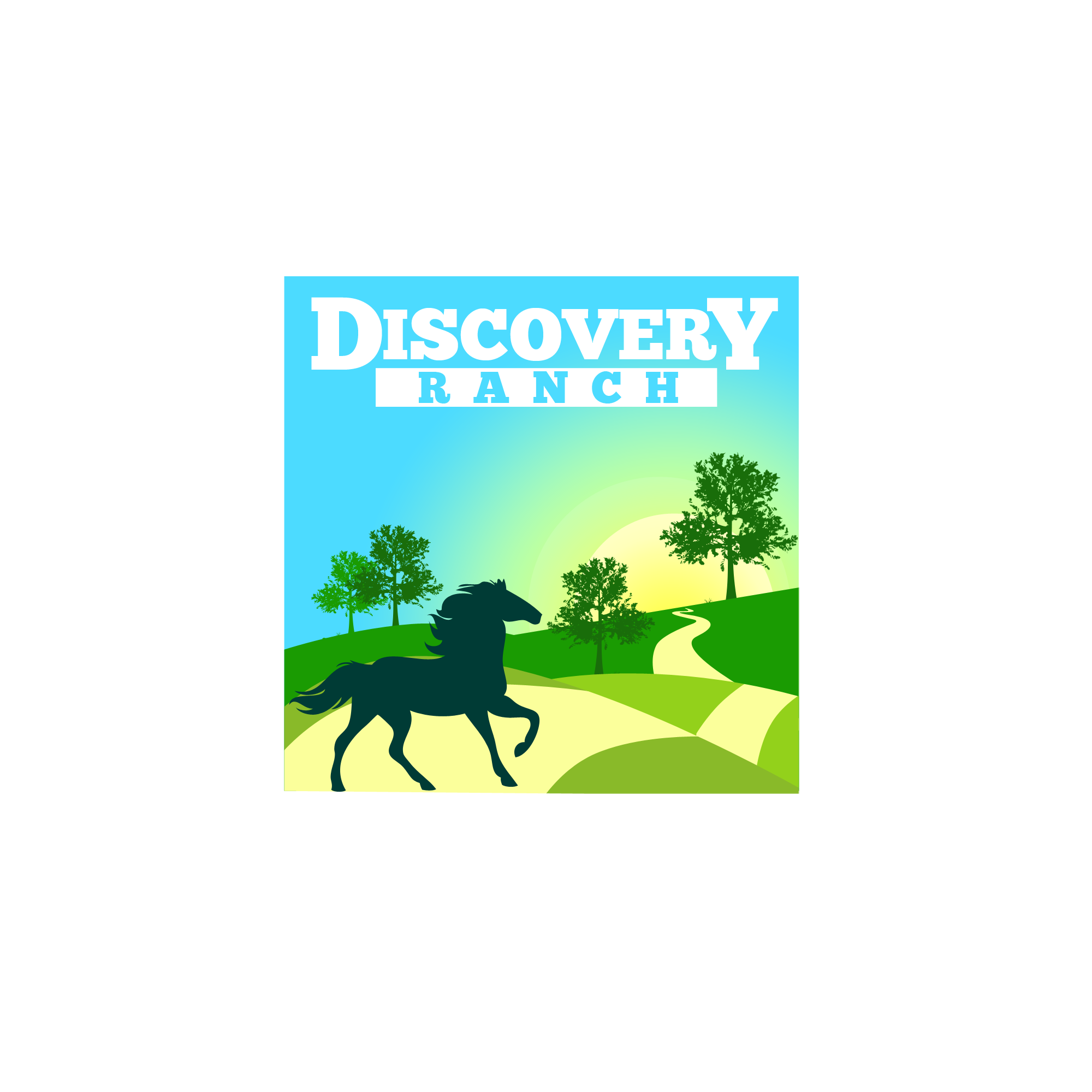 Logo Design by Kenneth Joel - Entry No. 124 in the Logo Design Contest Creative Logo Design for Discovery Ranch.