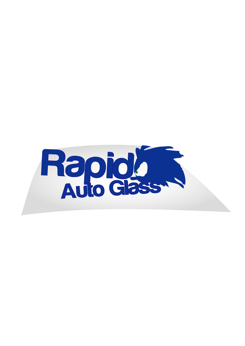 Logo Design by الملا سفيان - Entry No. 3 in the Logo Design Contest Unique Logo Design Wanted for Rapid Auto Glass.
