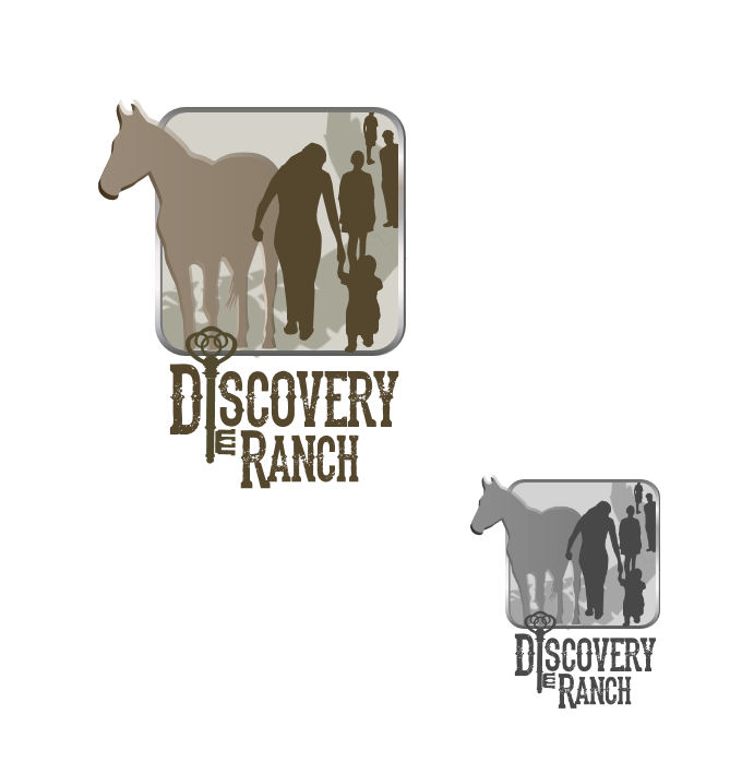 Logo Design by Tim Holley - Entry No. 126 in the Logo Design Contest Creative Logo Design for Discovery Ranch.