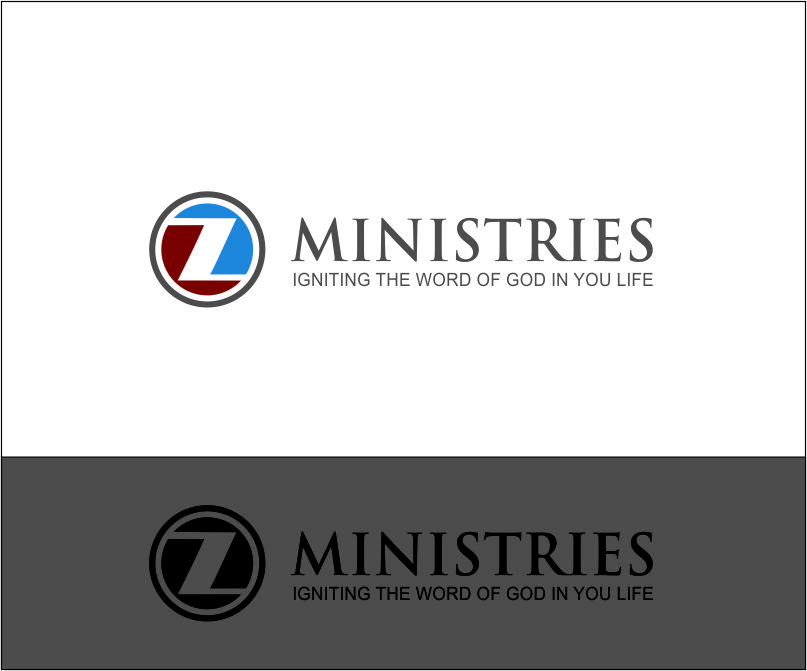 Logo Design by Agus Martoyo - Entry No. 24 in the Logo Design Contest Artistic Logo Design for Z Ministries.