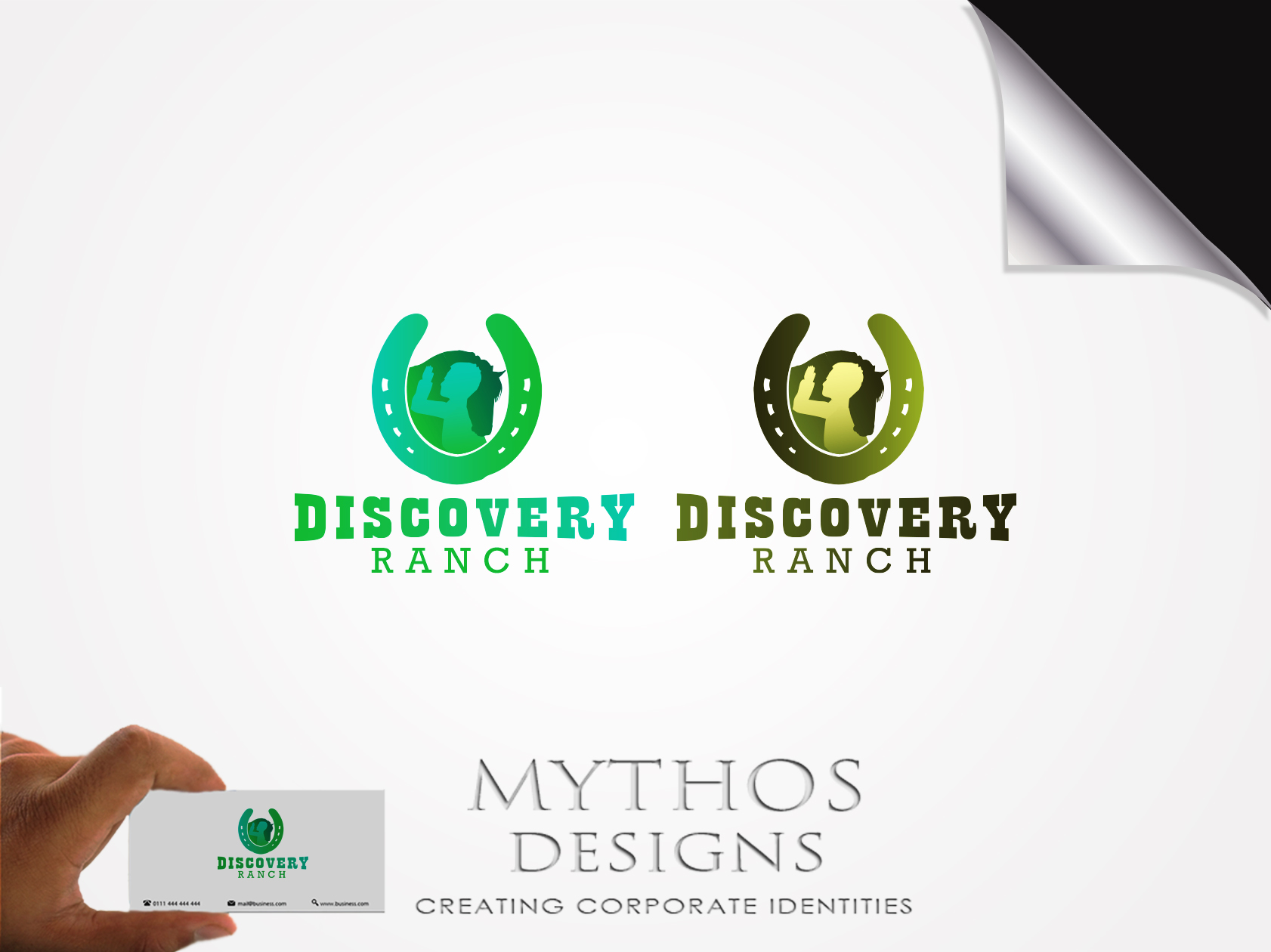 Logo Design by Mythos Designs - Entry No. 135 in the Logo Design Contest Creative Logo Design for Discovery Ranch.