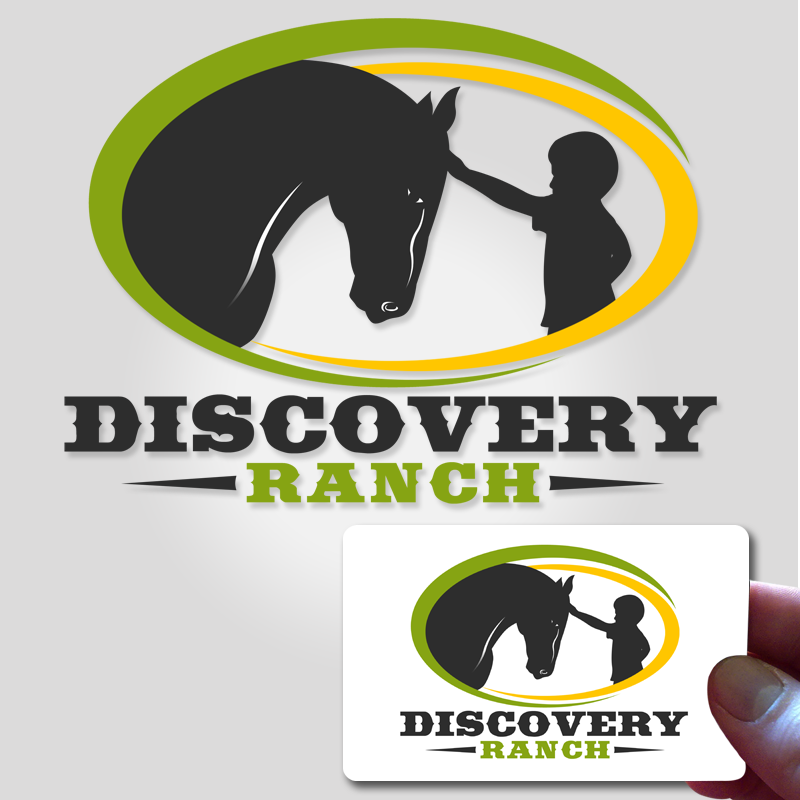 Logo Design by Private User - Entry No. 140 in the Logo Design Contest Creative Logo Design for Discovery Ranch.