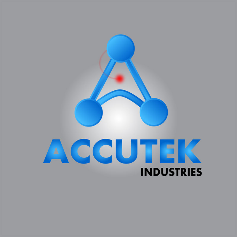 Logo Design by zams - Entry No. 81 in the Logo Design Contest Accutek Industries Ltd..