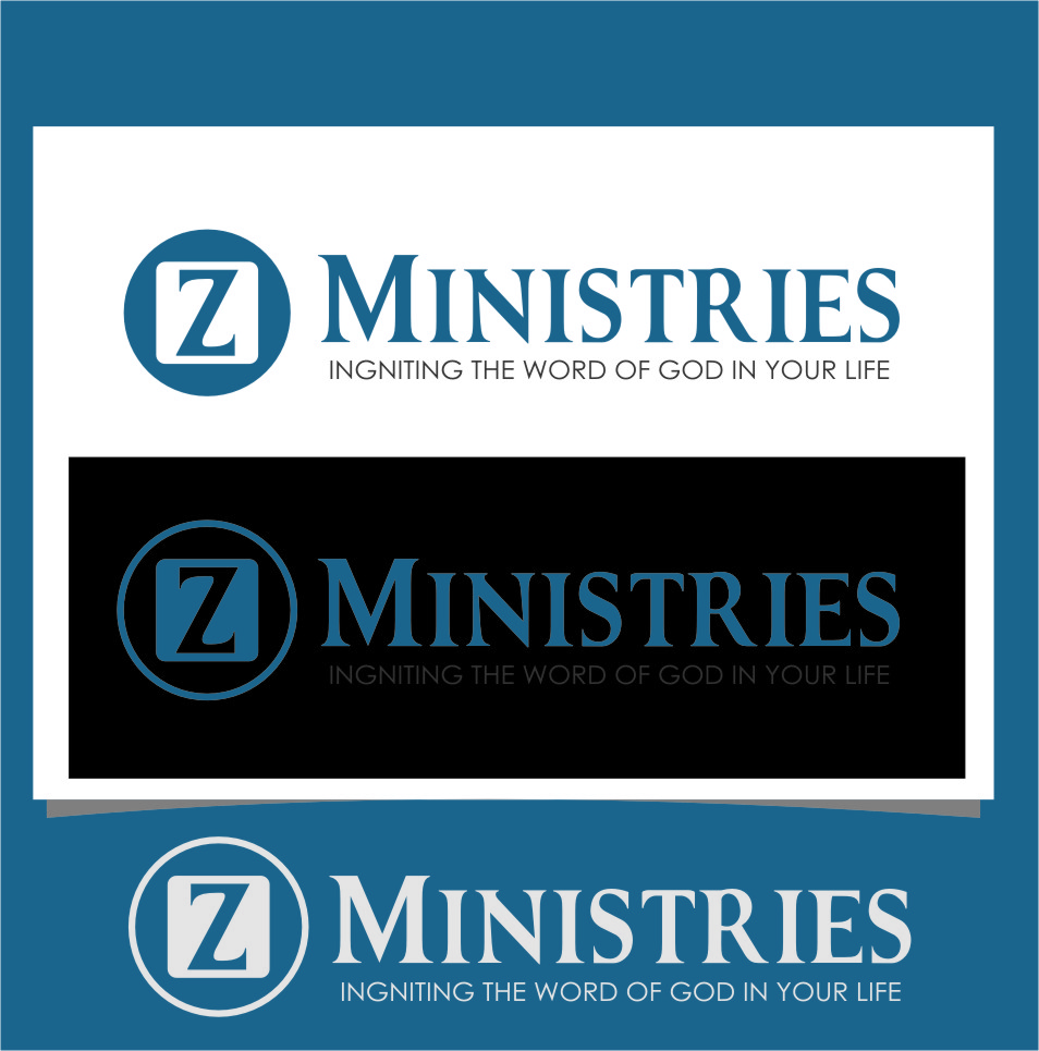 Logo Design by Ngepet_art - Entry No. 25 in the Logo Design Contest Artistic Logo Design for Z Ministries.