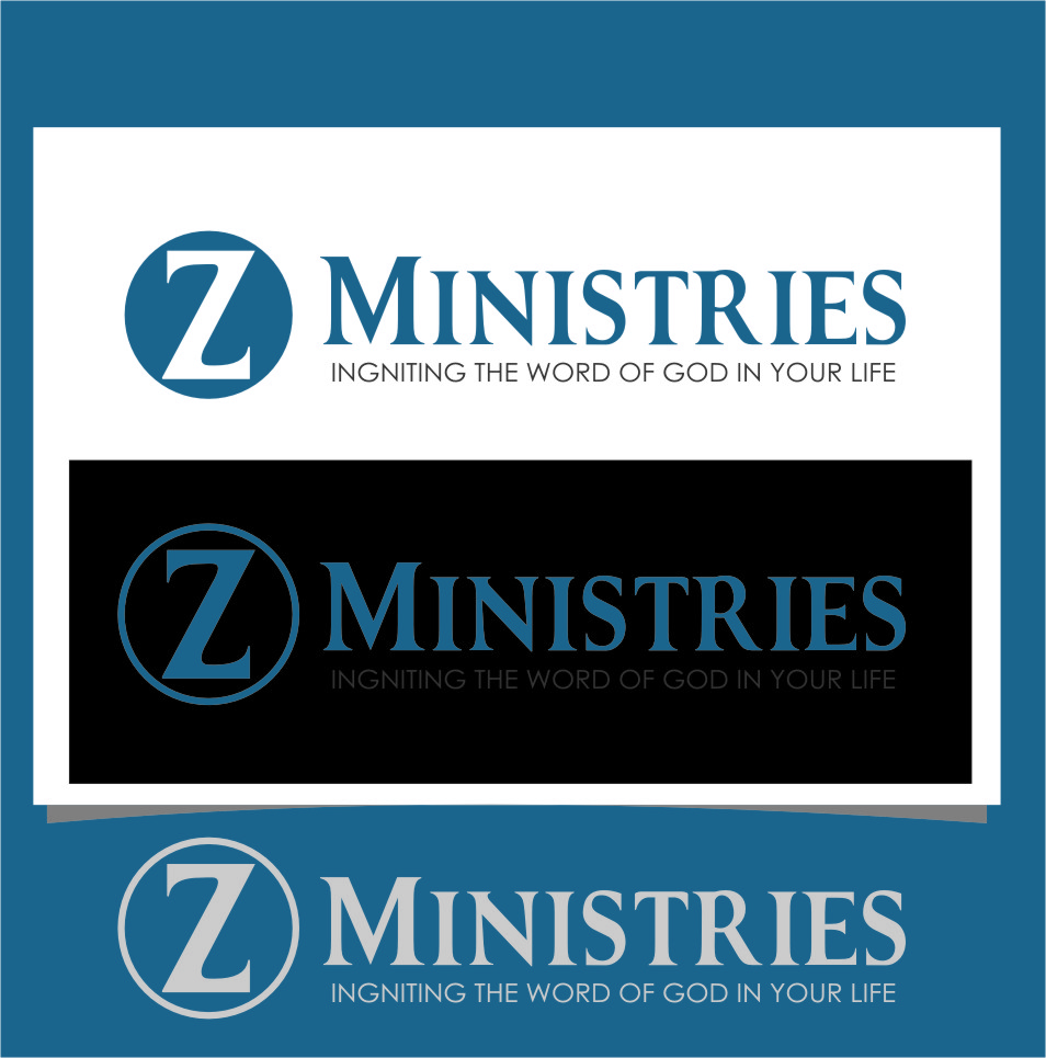 Logo Design by Ngepet_art - Entry No. 26 in the Logo Design Contest Artistic Logo Design for Z Ministries.