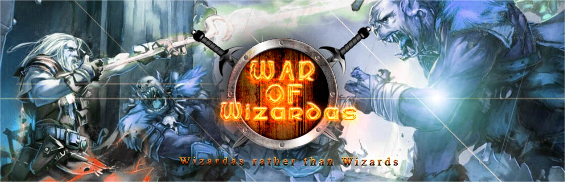 Banner Ad Design by Private User - Entry No. 9 in the Banner Ad Design Contest Banner Ad Design - War of Wizards (fantasy game).