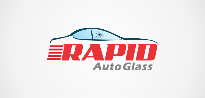 Logo Design by Dimas Irawan - Entry No. 6 in the Logo Design Contest Unique Logo Design Wanted for Rapid Auto Glass.